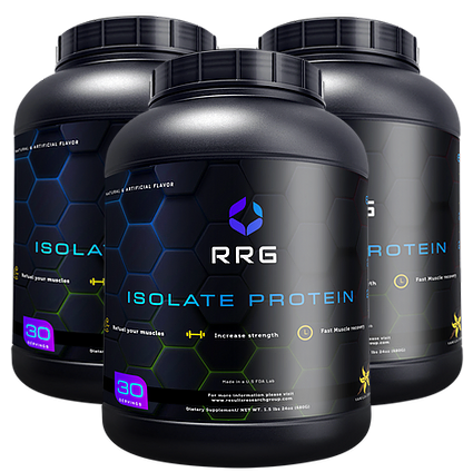 image of bottles of isolate protein